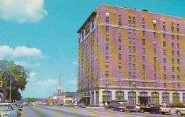 North Carolina High Point Sheraton Hotel & Main Street