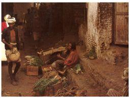 (ORL 80) Yemen - Market Seller (with Stamp) - Yemen