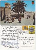 MAS18007 Morocco Maroc 1981 Tanger Postcard Nice Franking With Slogan Addressed USA - Morocco (1956-...)
