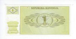 Billet Republika Slovenija 1 Tolar 1990 - Eslovenia