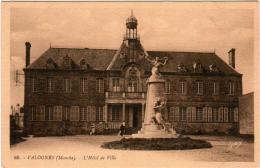 5ME 539. VALOGNES - LA HOTEL DE VILLE - Valognes