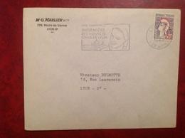 Lyon Marlier  Infirmière - Storia Postale