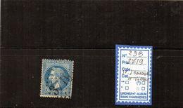 FRANCE - N°29B (GC3719  St.Léonard) Hte.Vienne - 1849-1876: Période Classique