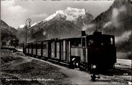 ! 1952 Ansichtskarte, Österreich, Mayrhofen, Zillertalbahn, Schmalspurbahn - Treinen
