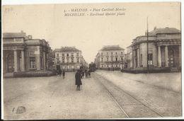 MECHELEN - Kardinaal Mercier Plaats (met Tram) - Mechelen