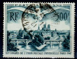 Francia-A0195 - POSTA AEREA 1947 (o) Used - Senza Difetti Occulti. - 1927-1959 Mint/hinged