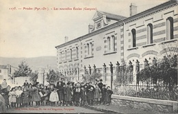 Prades (Pyrénées Orientales) - Les Nouvelles Ecoles (de Garçons) - Edition Brun Frères - Carte N° 1175 Non Circulée - Schools
