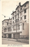 Amélie-les-Bains (Pyrénées Orientales) - Hôtel Du Vallespir - Carte CAP Non Circulée - Hotels & Restaurants