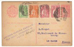 5849 - ENTIER  POUR LA FRANCE - 1910 - ... Repubblica