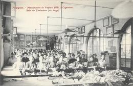 Perpignan, Manufacture De Papier JOB à Cigarettes, Salle De Confection - Carte Colorisée Non Circulée - Industry