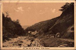 ! Alte Ansichtskarte, Chile, Rio De Las Minas, Punta Arenas, 1915 - Chile