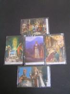Armenia 2001 Set 5 Phonecards Mind 1700th ANNIVERSARY OF THE PROCLAMATUON OF CHRISTIANITY; - Armenia