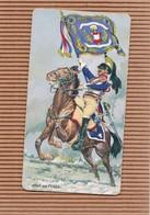 Chromo Image Publicitaire PERSIL 5ème Cuirassier 1803 Porte Drapeau - Chromos