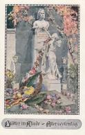 AK - NÖ - Bund D. Deutschen In NÖ - Kunstkarte Marussig - Allerseelentag - Vignette Retz - Hollabrunn