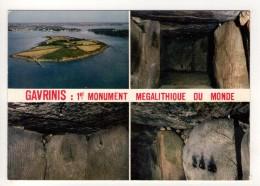 CP 10*15-TAC 915-LARMOR BADEN GAVRINIS PREMIER MONUMENT MEGALITHIQUE DU MONDE  MULTIVUES - Autres Communes