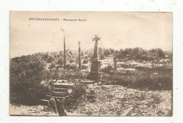 Cp , 68 , Militaria , REICHSACKERKOPF , Monument SATTEL , Guerre 1914-18 , Vierge, Ed. Isenarm - France
