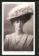 Pc Portrait Princess Victoria Mit Hut - Familles Royales