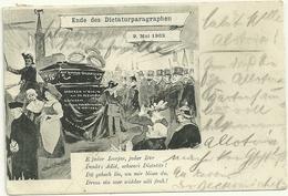 Ende Des Dictaturparagraphen 1902 Politique - Strasbourg