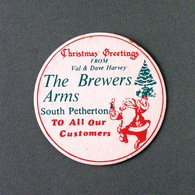 Bière The Brewers Arms South Petherton (Sous-bock Beer Mat Coaster Bierdeckel Bierviltje) - Sous-bocks
