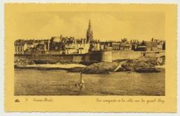 AK  Saint Malo Le Ramparts 1944 - Saint Malo