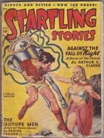 C1  STARTLING STORIES 11 1948 SF Pulp BERGEY Clarke VAN VOGT Bradbury VANCE - Science Fiction