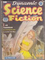 C1 DYNAMIC SCIENCE FICTION UK BRE 1952 SF Pulp LESLIE ROSS Lester DEL REY - Science Fiction
