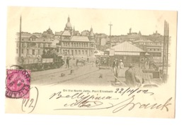 SOUTH AFRICA - PORT ELIZABETH - ON THE NORTH JETTY - STAMP - MAILED TO ITALY 1902 ( 2776) - Afrique Du Sud