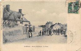 37-SAINT-REGLE- ROUTE D'AMBOISE - LA POSTE - Francia