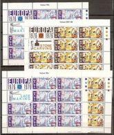 1976 Malta EUROPA CEPT EUROPE 20 Serie Di 2v. MNH** In 4 Minifogli 4 Minisheets - 1976