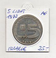 Israele - 1972 - 5 Lirot - Argento - Vedi Foto - (MW1376) - Israele
