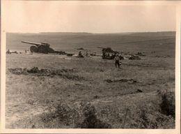 ! 2 Fotos 11,6 X 8,7cm, 2. Weltkrieg 1940 Westfeldzug, Artillerie, Geschütze, Militaria, MILITAIRE, Frankreich, France - Weltkrieg 1939-45