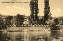 VILLENNES SUR SEINE - Restaurant Des Peupliers - Villennes-sur-Seine