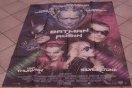 AFFICHE CINEMA ORIGINALE FILM BATMAN ET ROBIN SCHUMACHER SCHWARZENEGGER CLOONEY THURMAN 1997 - Posters