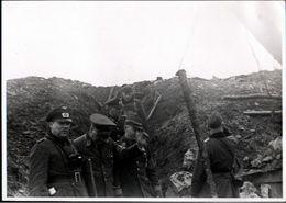 ! Foto 11,8 X 8,5 Cm, 2. Weltkrieg 1940 Berus, Militaria, Saarland, 3.Reich, U.a. Gauleiter Carl Röver Bremen - Weltkrieg 1939-45