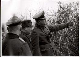 ! Foto 11,8 X 8,5 Cm, 2. Weltkrieg 1939, Militaria, Saarland, 3.Reich, U.a. NSDAP Gauleiter Kauffmann - Weltkrieg 1939-45