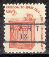 USA Precancel Vorausentwertung Preo, Locals Texas, Hart 834 - Vereinigte Staaten