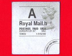 GB UK GRAN BRETAGNA - Usato -  2018 - Royal Mail - Universal Mail Stamps