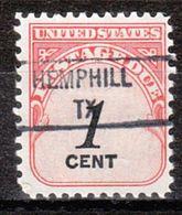 USA Precancel Vorausentwertung Preo, Locals Texas, Hemphill 841 - Etats-Unis