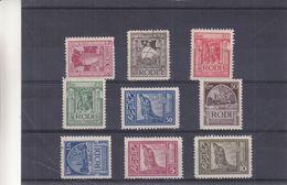 Italie - Rodi - Yvert 15 / 23 * - Yvert 16 Oblitéré - Chevaliers - Bateaux - Voiliers - épée - Ägäis (Rodi)