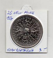 Gran Bretagna - 1980 - 25 New Pounds - (Vedi Foto) - (MW1380) - 1971-… : Monedas Decimales