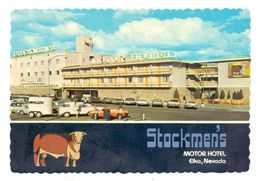 USA - NEVADA - ELKO, Stockmen's Motor Hotel - Other