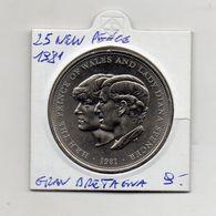 Gran Bretagna - 1981 - 25 New Pounds - (Vedi Foto) - (MW1381) - 1971-… : Monedas Decimales