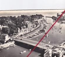 CP 44 -     LE POULIGHEN   -   LA BAULE   -    Vue Aérienne Sur Le Port Et Sur La Mer - La Baule-Escoublac