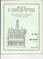 LA POSTE A SAINT QUENTIN - Philately And Postal History
