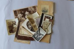 Lot  Photos Guerre 1914 1918  Identifiées Localisées - Guerre, Militaire