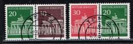 Berlin  1966, Michel# W 41 + 42 O - [5] Berlin