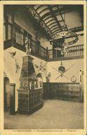 AK Tübingen, Guestfalenhaus, Diele, Studentika, AV Guestfalia, O 1913 (30909) - Tuebingen