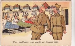 Ed Sepheriades  - Militaire Humour Dortoir Cruche Vide  - CPSM 9x14 BE Neuve - Humoristiques