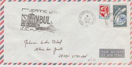 France, Poste Navale, Ph Jeanne D'arc  En 1973, Escale D'Istanbul  TB - Poststempel (Briefe)