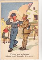 Ed Sepheriades  - Militaire Humour Marin Ivrogne Vin  - CPSM 9x14 TBE Neuve - Humoristiques